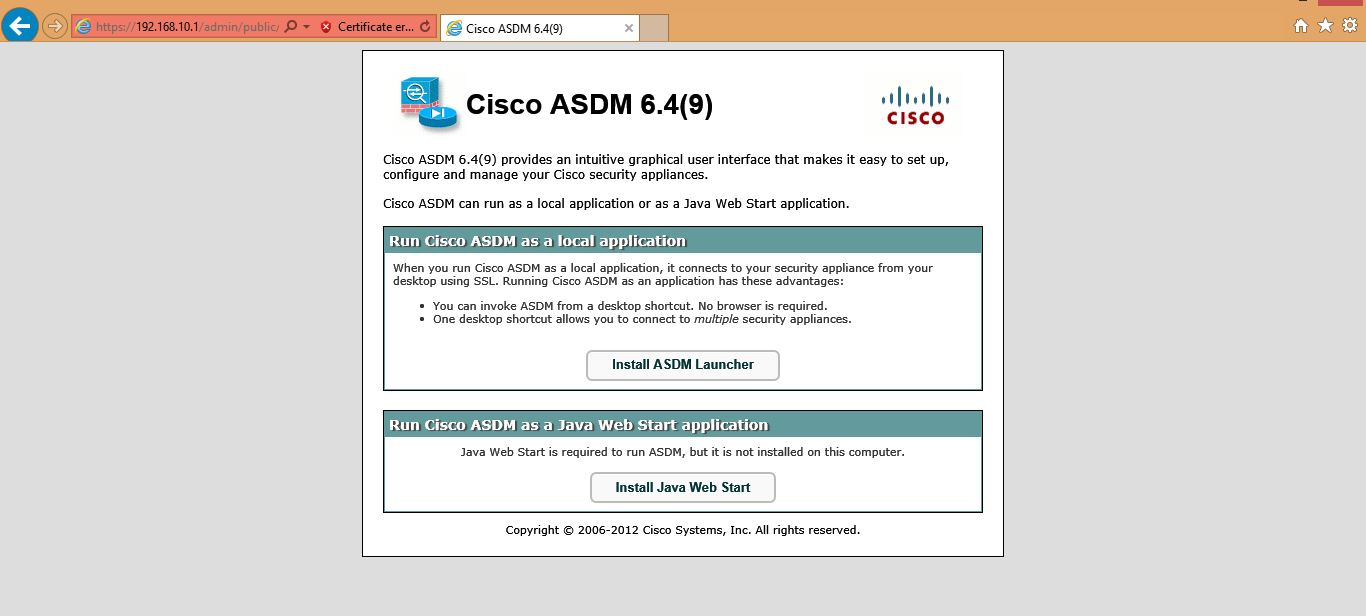 Getting Started With Cisco Asa